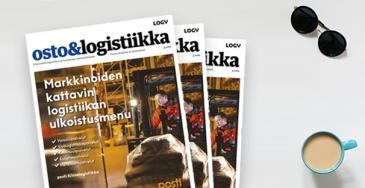 Osto&Logistiikka 3/2019 ilmestynyt