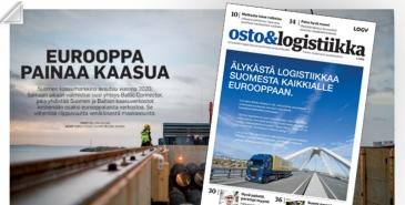 Osto&Logistiikka 3/2018 ilmestynyt