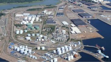 Haminan LNG-terminaalin rakentaminen alkamassa