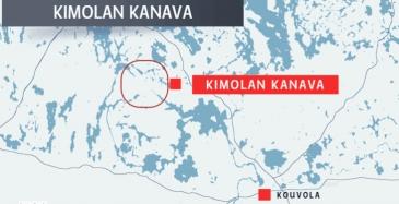 Kimolan kanavaa pitkin Jyväskylästä Kouvolaan