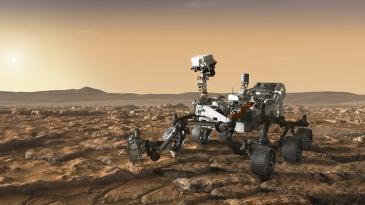 Nasan Mars 2020 -mönkijään suomalaisia laitteita