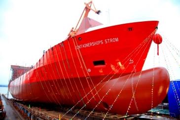 Containerships paransi tulostaan viime vuonna