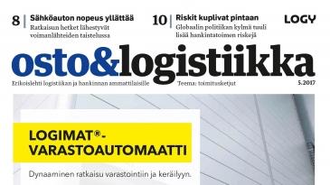 Osto&Logistiikka 5/2017 on ilmestynyt