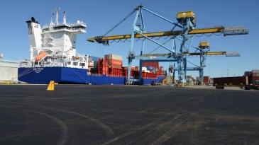 Rauman satamainvestointi loppusuoralla