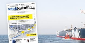 Osto&Logistiikka 5/2018 ilmestynyt