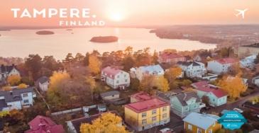Tampereelle tunnustusta lentomarkkinoinnista