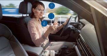 Bosch kehitti kuljettajaa valvovan älykameran