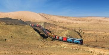 Päivittäinen säännöllinen rautatieyhteys Kiinasta Suomeen Puolan kautta
