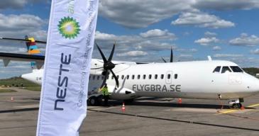 Ruotsin mallilento minimoi lentopäästöjä
