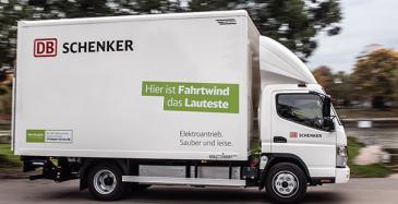 DB Schenkerille 36 sähköautoa