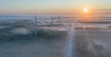 Gasumin selvitys: Tuulisähköä vuonna 2030