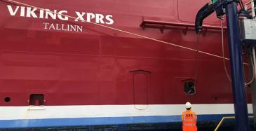 Viking Linen neljäs alus maasähköön