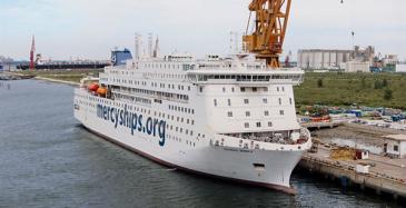 Uuteen Mercy Shipsin kelluvaan sairaalaan, Global Mercy -alukseen, tulee neljä Wärtsilä 32 -moottoria.