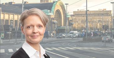 Keskustan viihtyisyyden ja vetovoiman lisääminen on meidän kaikkien yhteinen projekti, korostaa maankäyttö- ja liikenneasioiden päällikkö Tiina Pasuri Helsingin seudun kauppakamarista.