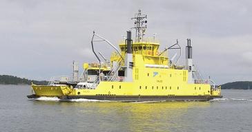 Falco-alus teki maailman ensimmäisen autonomisen laivamatkan vuonna 2018. Reitti kulki Paraisilta Nauvoon.