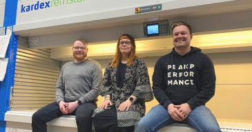 Fotonordicin Toni Taikina-aho (vasemmalla), Veera Uutinen ja Janne Kuoppala uskovat yhtiön potentiaaliin menestyä kansainvälisillä markkinoilla.