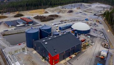 Gasum pyrkii lisäämään biokaasun tuotantokapasiteettia rakentamalla uusia biokaasulaitoksia ja lisäämällä biokaasun hankintaa kumppaneilta.