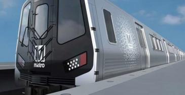 Washingtonin metroverkko on 118 mailia pitkä, sillä on kuusi linjaa, 91 asemaa ja järjestelmässä on lähes 1300 vaunua.