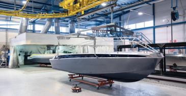 Vuosien varrella veneet ovat myös muuttuneet. Kuten autoissa, veneissäkin keskikoko on kasvanut.