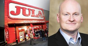Jula aikoo yhtiön toimitusjohtajan Joachim Frykbergin mukaan avata vuoden 2022 aikana sekä oman verkkokaupan että tavaratalon Suomessa.