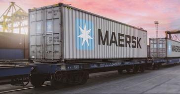 Maerskin mukaan junat Venäjän Kauko-idästä tulevat Pietariin 11 päivässä.
