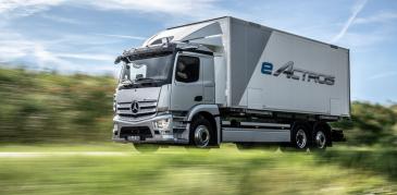 Mercedes-Benz käynnisti täyssähköisen eActrosin sarjatuotannon