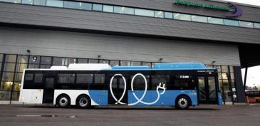 VR FleetCare aloittaa sähköbussien kunnossapidon