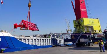 Konecranes toimittaa Italiaan kaksi siirrettävää Gottwald-satamanosturia