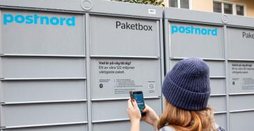 PostNord investoi pakettiautomaatteihin