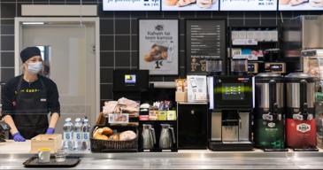 R-kioski ja Foodora yhteistyöhön
