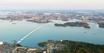 Helsinki päättää tänään sähkölautasta Kruunuvuorenrannasta Meritullintorille
