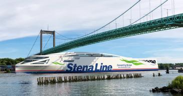 Kuvassa Stena Linen aiemmin uutisoima fossiilivapaata polttoaineitta käyttävä sähköakuilla toimiva Stena Elektra -alus, jonka yhtiö ottaa käyttöön Göteborg-Fredrikshavn-reitillä.