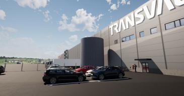 Yli neljän jalkapallokentän kokoinen varasto on valmis vuoden 2022 aikana.
