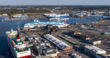 Ramboll konsultiksi Ferry Terminal Turkuun