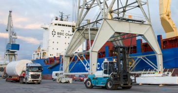 Turun sataman rahtiliikenne kasvoi 12,2 prosenttia