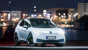 Volkswagen ID.3 on yksi kuudesta Vuoden Auto Suomessa -kilpailun finalisteista.