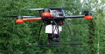 Metsä Group vie dronet metsään