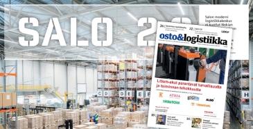 Osto&Logistiikka 4/2018 ilmestynyt
