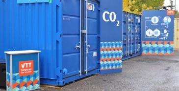 VTT ja St1 pilotoivat hiilivetyjen valmistamista hiilidioksidista