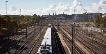 Helsingin ratapihan kesän työt valmistuivat
