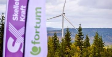 Fortumille iso tuulipuisto Ruotsiin