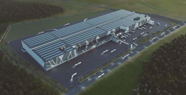 Axfoodille huippumoderni logistiikkakeskus