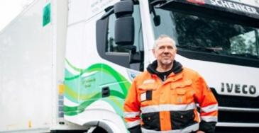 DB Schenkerille lisää LNG-rekkoja