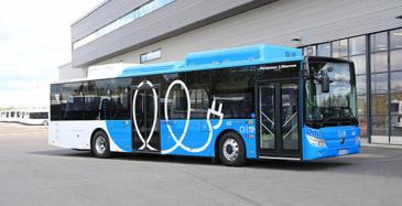Destia toimittaa HSL:lle sähköbussien latauspalvelun