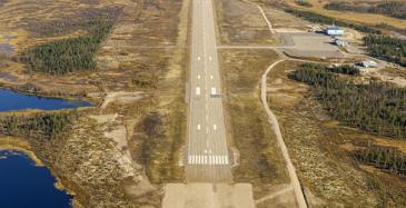 Enontekiön lentoasema siirtyy kunnalle