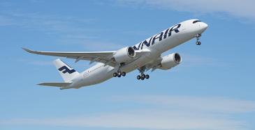 Finnairille lisää lentoja heinäkuusta alkaen