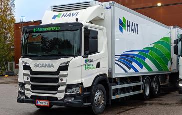 HAVI Logistics Oy pudotti päästöjään