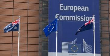 EU aloitti neuvottelut laajasta kauppasopimuksesta Australian kanssa