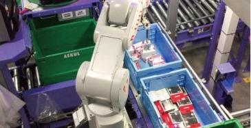 Japani valmistautuu täysin automaattisiin jakelukeskuksiin