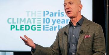 Amazon aikoo hiilijalanjäljettömäksi
